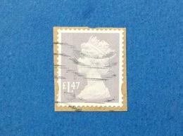 1971 1980 GRAN BRETAGNA GREAT BRITAIN QUEEN REGINA ORDINARIO 11 1/2 P FRANCOBOLLO USATO STAMP USED - 1952-.... (Elisabetta II)