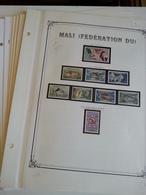 Lot N° 609 MALI Collection Sur Pages D'albums Neufs ** T.B. - Collections (en Albums)