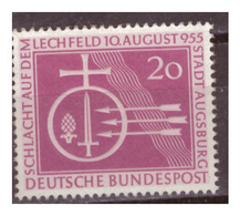 Bund 1955, Nr. 216, Postfrisch - BRD