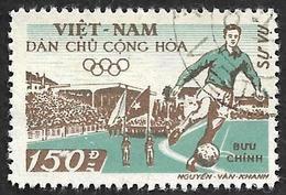 VIETNAM Du NORD 1958 - Service 13 - Football - Oblitéré - Viêt-Nam