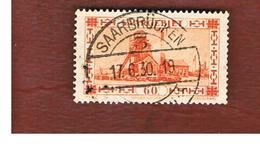 SAAR (SARRE) - SG 114a - 1930 COLLIERY SHAFTHEAD  - USED - 1920-35 Società Delle Nazioni