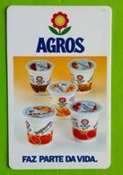 Calendrier De Poche Yaourt Agros. 1991 - Calendarios