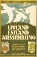 @@@ MAGNET - Livland  Estland  Ausstellung - Advertising