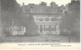 EVERGEM : Chateau De Mr. Gaeten-Schoorman - Cachet De La Poste 1906 - Evergem