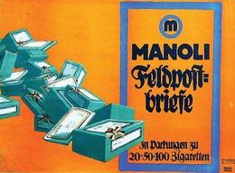 @@@ MAGNET - Manoli Feldpostbriefe - Advertising
