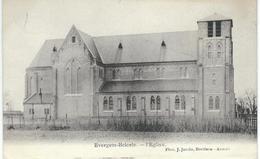 EVERGEM -BELCELE : L'Eglise - Cachet De La Poste 1907 - Evergem