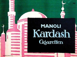 @@@ MAGNET - Manoli Kardash Cigaretten - Advertising