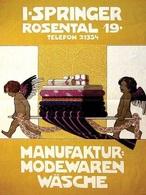 @@@ MAGNET - Manufaktur. Modewaren Wäsche - Advertising