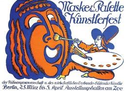 @@@ MAGNET - Maske & Palette  Künstlerfest - Advertising