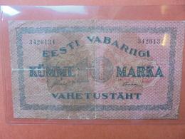 ESTONIE 10 MARKA 1922 ASSEZ RARE- CIRCULER  (B.3) - Estonie