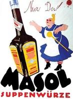 @@@ MAGNET - Masol Suppenwürze  Nur Du! - Advertising