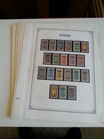 Lot N° 607 NIGER Collection Sur Pages D'albums Neufs ** T.B. - Collections (en Albums)