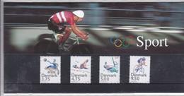 Denmark, SM 22, Souvenir Folder, Sport, 1996  Can Be Used For Postage Postal Value 23 Kr - Dinamarca