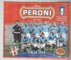 BIRRA PERONI...SQUADRA...ITALIA 1934 ...ETICHETTA..ETIQUETTE - Bier