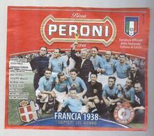 BIRRA PERONI...SQUADRA ITALIA 1938 ...ETICHETTA..ETIQUETTE - Bier