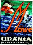 @@@ MAGNET - Möwe  Uránia - Advertising