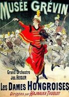 @@@ MAGNET - Musée Grévin  Les Dames Hongroises - Advertising