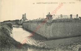 50.  SAINT VAAST LA HOUGUE .  Le Fort . - Saint Vaast La Hougue