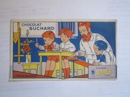 CHROMO CHOCOLAT SUCHARD DESSINATEUR Les APPRENTIS SUCHARD MILKA - Suchard