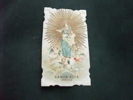 SANTINO HOLY PICTURE IMAGE SAINTE SANTA ZITA VERGINE - Religione & Esoterismo