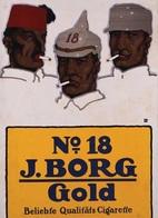 @@@ MAGNET - No 18  J.Borg  Gold - Advertising