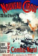 @@@ MAGNET - Nouveau Cirque  Combat Naval - Advertising