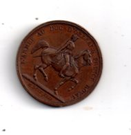 Médaille - L'Armée Au Duc D'Orléans Prince Royal-voir état. - Royaux / De Noblesse