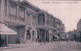 France 86, Poitiers Rue Carnot, Le Cercle Des Officiers (13) - Poitiers