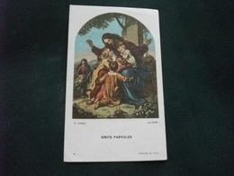 SANTINO HOLY PICTURE IMAGE SAINTE SINITE PARVULUS C. VOGEL FOTO ALINARI 18 - Religione & Esoterismo