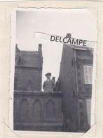 SAINT AUBIN SUR MER 1935 - Photo D'un Gamin Prenant La Pose ( Calvados ) - Lieux