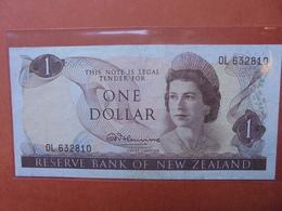 NEW-ZEALAND 1$ 1967-81 CIRCULER (B.3) - Nieuw-Zeeland