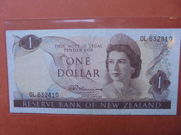 NEW-ZEALAND 1$ 1967-81 CIRCULER (B.3) - New Zealand