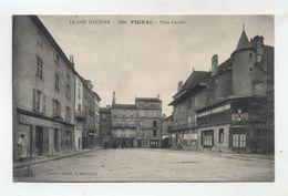 46 - FIGEAC - Place Caviale - - Figeac