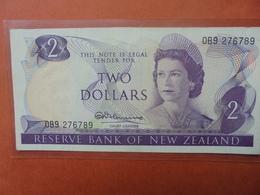NEW-ZEALAND 2$ 1967-81 CIRCULER (B.3) - New Zealand