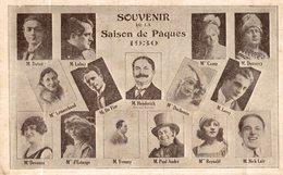 CPA RARE SOUVENIR DE LA SAISON DE PAQUES 1930 - Spectacle