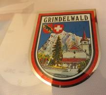 Ecusson Autocollant GRINDELWALD - Autocollants