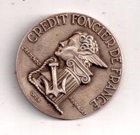 Médaille - Crédit Foncier De France - 1852-1952-voir état. - Professionnels / De Société