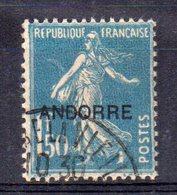 Sello  Nº 13 Andorra - Andorre Français