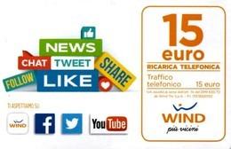 *ITALIA - WIND - NOVITA'* - Ricarica Usata (sc. 30/06/2022) - [2] Handy-, Prepaid- Und Aufladkarten