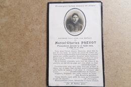 FAIRE PART De DÉCÈS - Jeune Homme Avec Photo - Région De Dijon ( Faire Part - Carte Souvenir ) - Obituary Notices