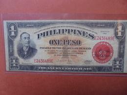 PHILIPPINES 1 PESO 1941- CIRCULER (B.3) - Philippines