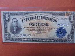 "PHILIPPINES 1 PESO 1944 ""VICTORY"" BONNE QUALITE- CIRCULER (B.3) - Philippines"