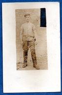 Carte Photo  -    Soldat Allemand  1917 - War 1914-18