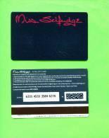 UK - Magnetic Gift Card/Miss Selfridge - Unclassified