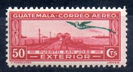 Sello  Nº A-48 Guatemala - Guatemala