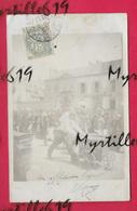 Carte-photo - Saint-Brieuc - 1906 - Courses De Triporteurs Rue Jouallan - écrite Pour Rue Du Port - - Lieux