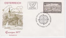 Austria FDC 1977 Europa CEPT  (G100-41) - Europa-CEPT