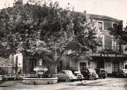 """CPSM Grand Format Restaurant """"LA MERE GERMAINE"""" CHATEUNEUF Du PAPE  Grands Vins """"Clos Des Papes"""" Voitures à Voir  RV - Chateauneuf Du Pape"""