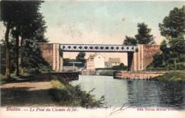 Belgique - Bernissart - Blaton - Le Pont Du Chemin De Fer - Bernissart
