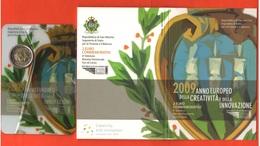 2 Euro Innovazione Innovation 2009 San Marino Saint Marin UNC - San Marino